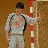 ハンド2014春季リーグ 対東海大 柿崎②-thumb-160x160-8494