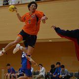 ハンド2014春季リーグ 対東海大 遠藤-thumb-160x160-8492