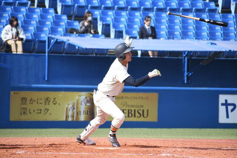 先制の適時打を含む2安打を放った佐藤勇 R